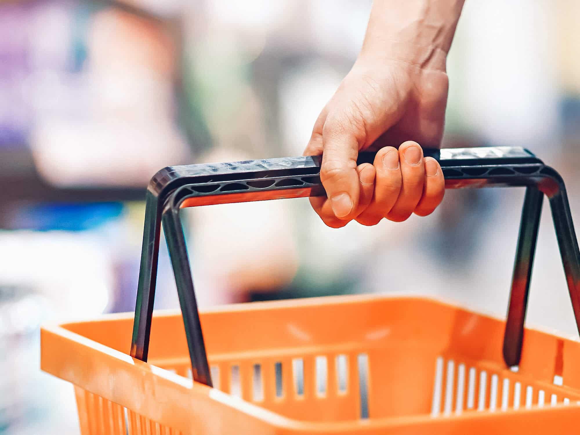 סלסלות לסופרמרקט/פארם